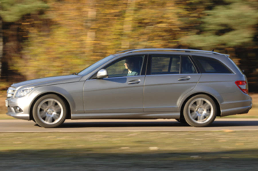 mercedes benz c220 cdi estate first uk drive. Black Bedroom Furniture Sets. Home Design Ideas