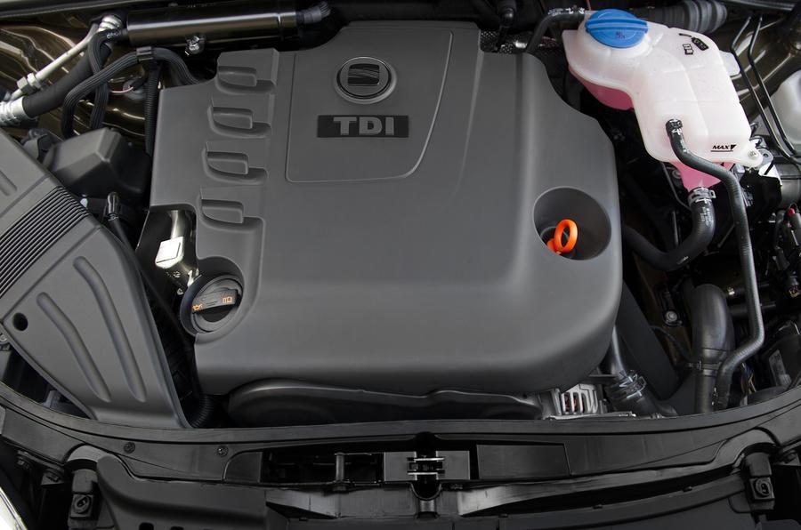 2.0-litre TDI Seat Exeo engine