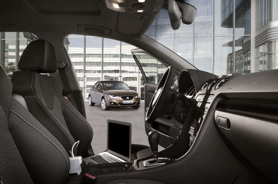 Seat Exeo interior