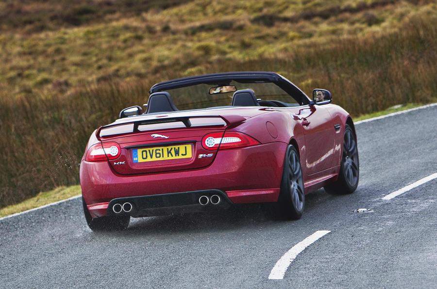 Jaguar XKR-S Convertible rear