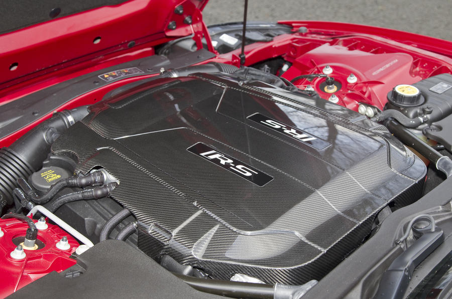 5.0-litre V8 Jaguar XKR-S engine