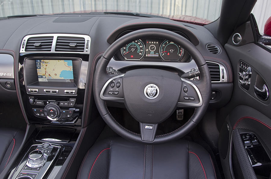 Jaguar XKR-S Convertible dashboard