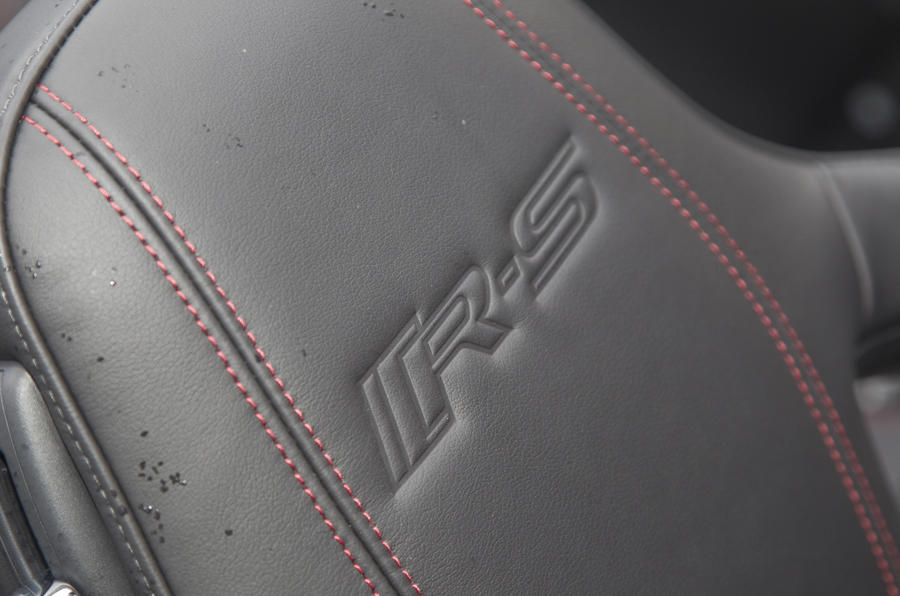 Jaguar XKR-S Convertible seats