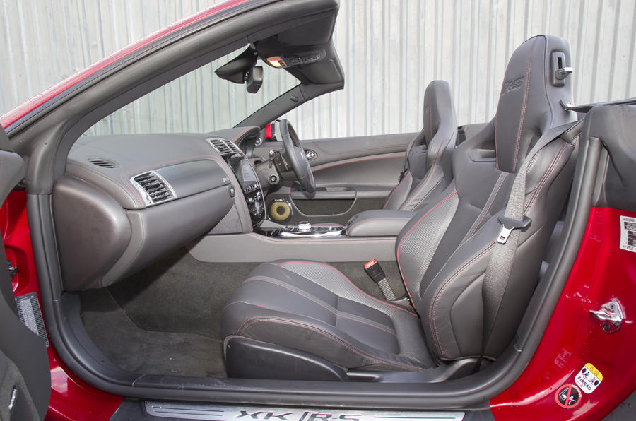 Jaguar XKR-S Convertible interior