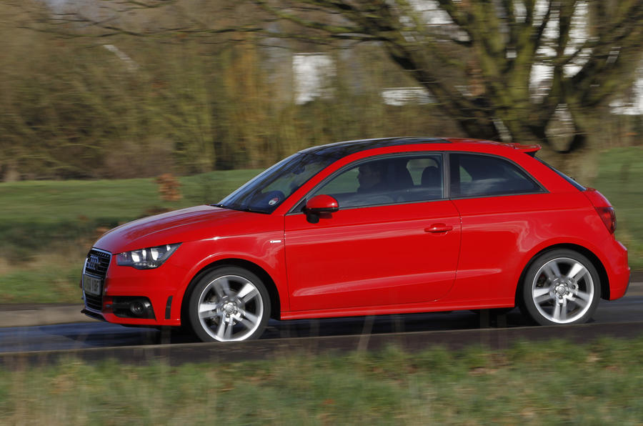 Audi A1 1.2 TFSI S Line side profile