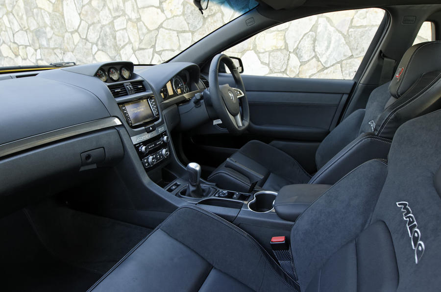 Vauxhall VXR Maloo interior