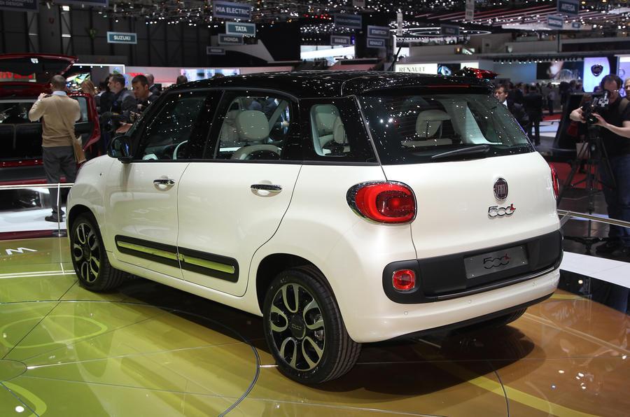 Geneva show 2012: Fiat 500L