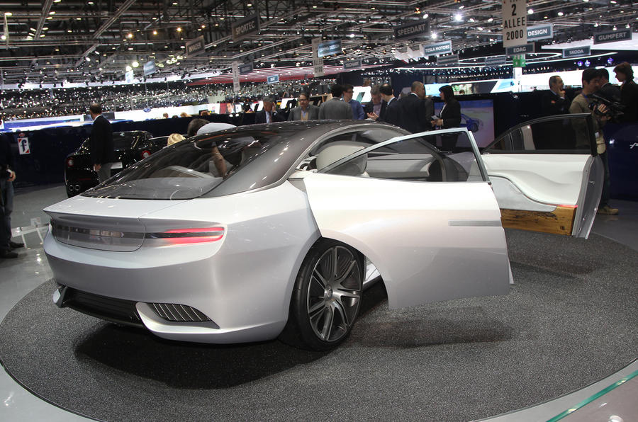 Geneva 2012: Pininfarina Cambiano