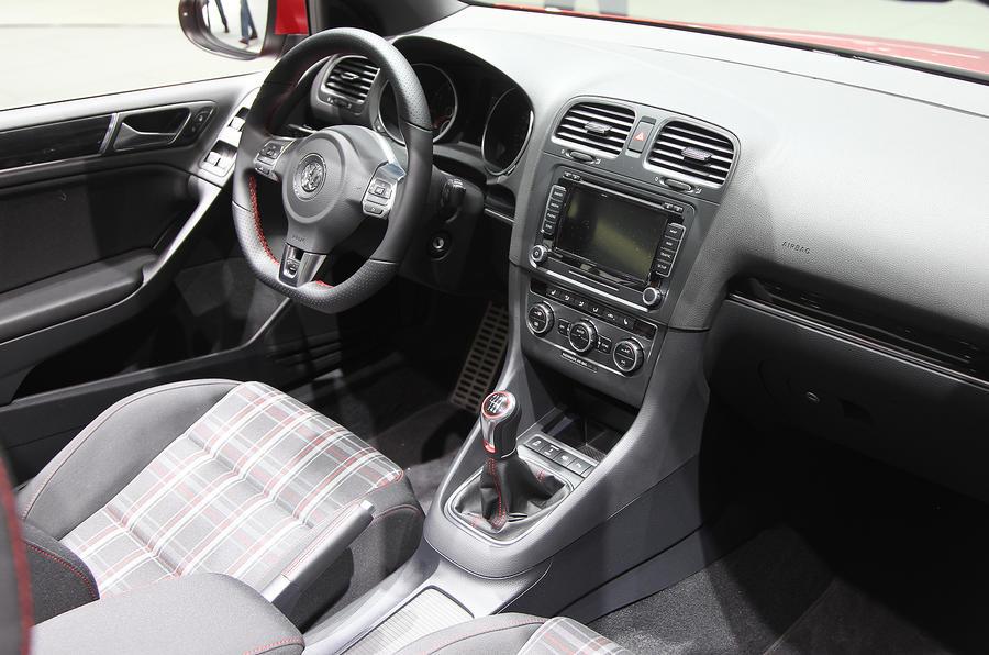 Geneva: VW Golf GTI cabrio