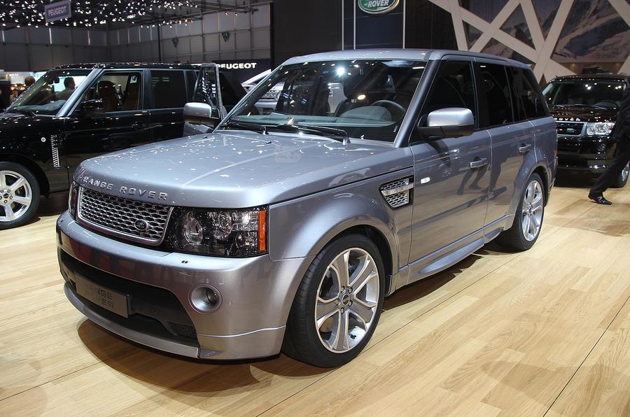 Geneva 2012: Range Rover specials
