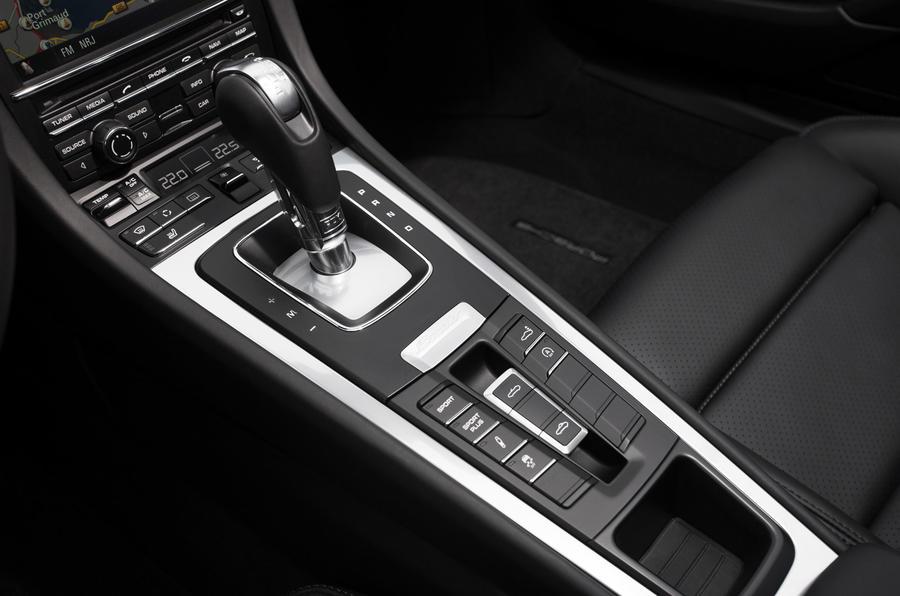 Porsche Boxster S PDK gearbox