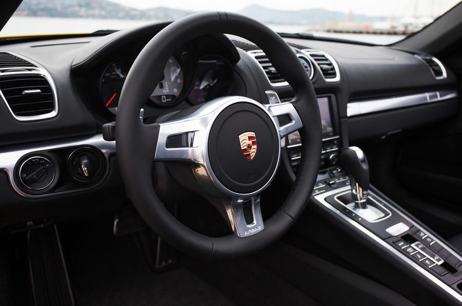 Porsche Boxster S dashboard