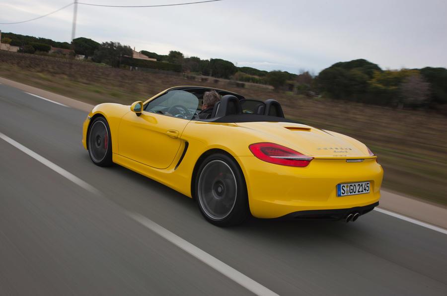 Porsche Boxster S rear quarter