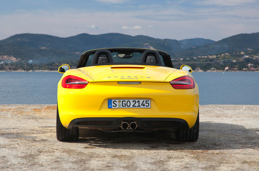 Porsche Boxster S rear end