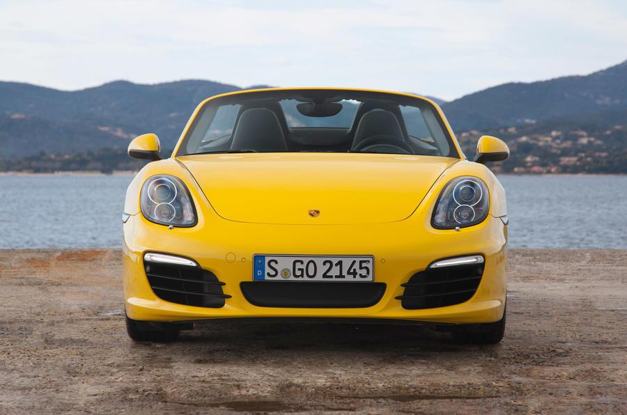 Porsche Boxster S front end