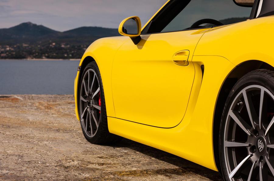 20in Porsche Boxster S alloys