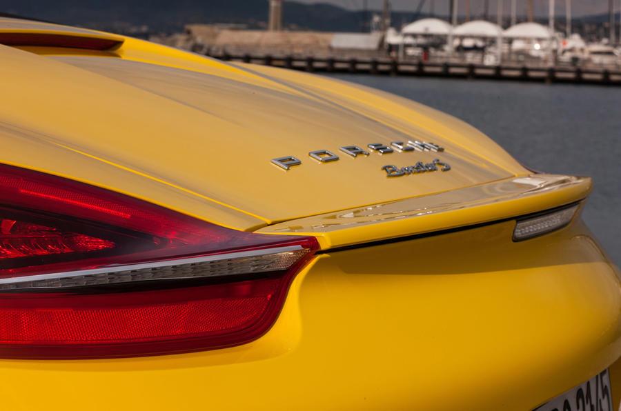 Porsche Boxster S rear lights