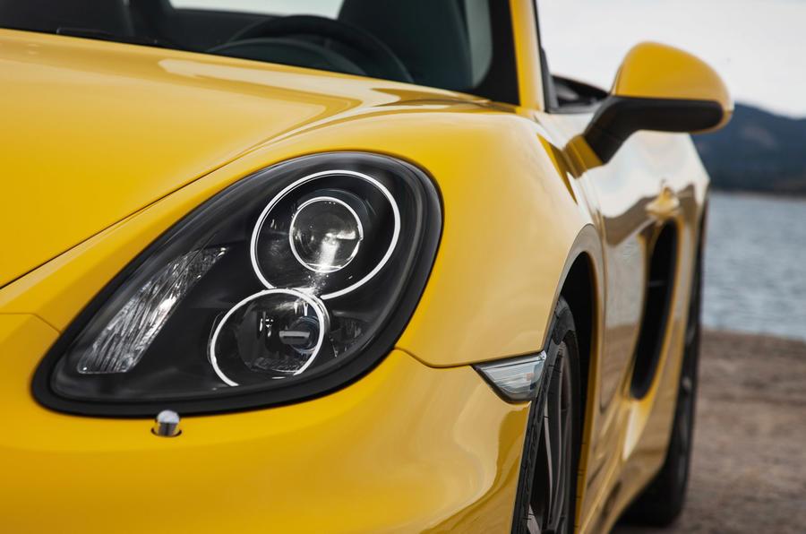 Porsche Boxster S xenon headlights