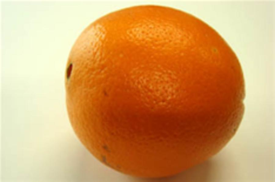 Oranges to give Spanish cars more zest