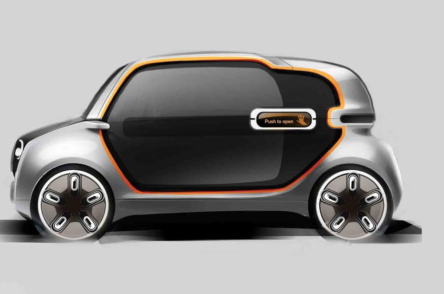 future fiat 500 and panda designed by students autocar. Black Bedroom Furniture Sets. Home Design Ideas
