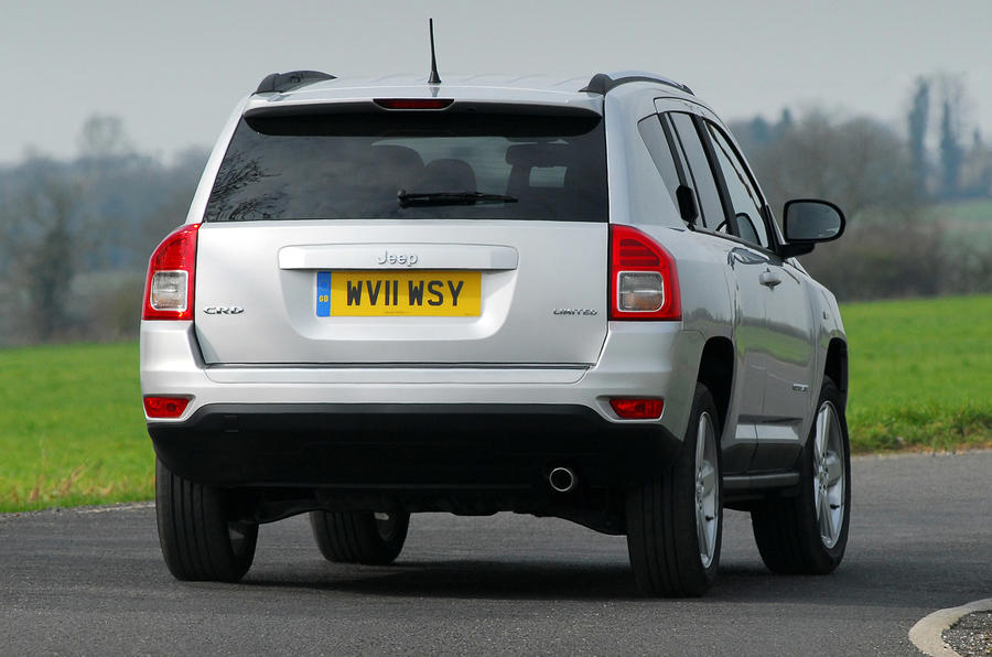 Jeep Compass 2.2 CRD rear