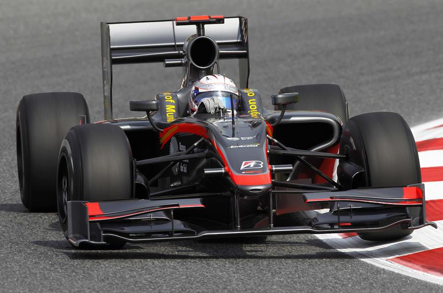 McLaren sets pace in Spain