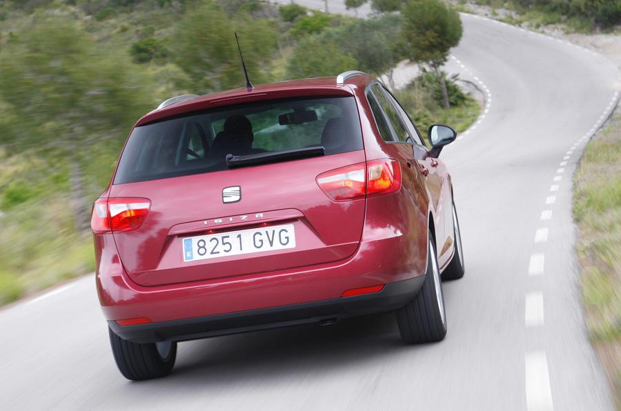 Seat Ibiza ST rear