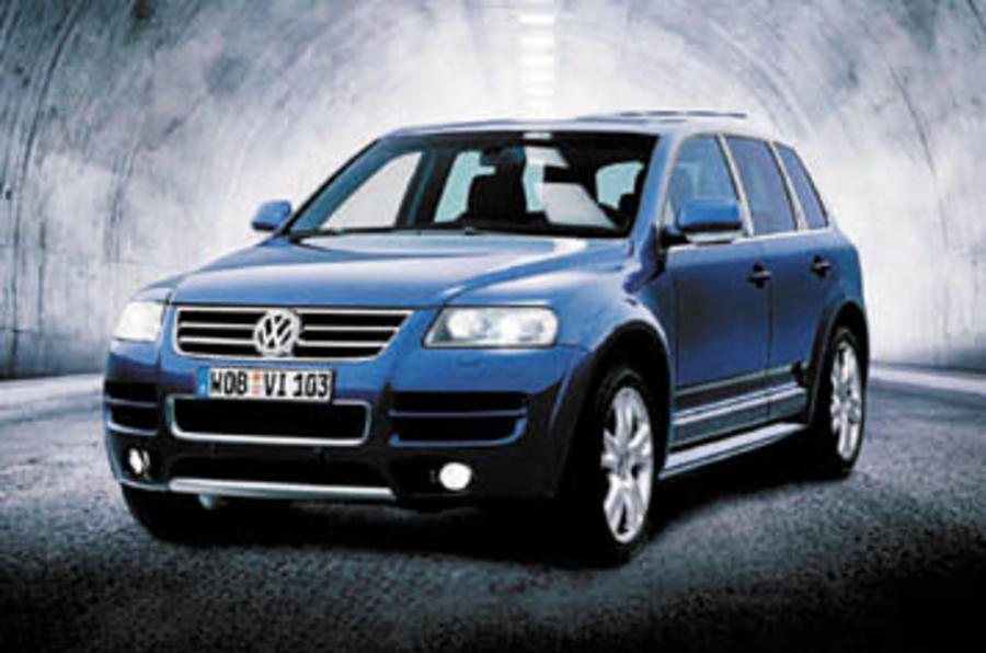vw touareg w12 review autocar. Black Bedroom Furniture Sets. Home Design Ideas