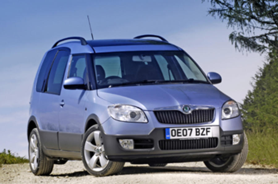 skoda roomster scout 1 9 tdi review autocar. Black Bedroom Furniture Sets. Home Design Ideas