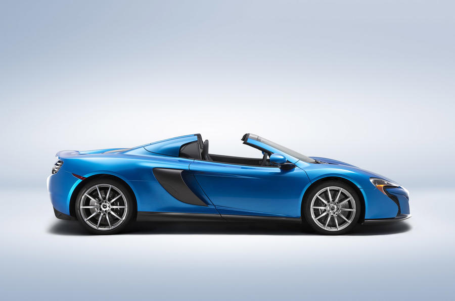 McLaren to reveal special-edition P1 and 650S Spider at Pebble Beach