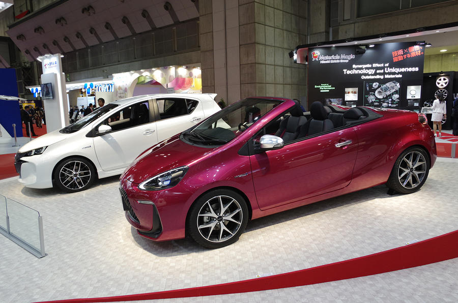 Tokyo motor show 2013: Toyota Aqua Air concept