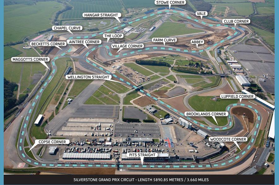 Silverstone Circuit Map >> British GP: New Silverstone layout | Autocar