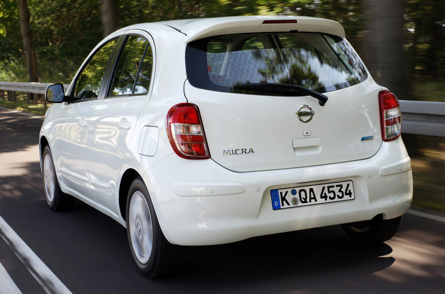Nissan Micra DIG-S rear