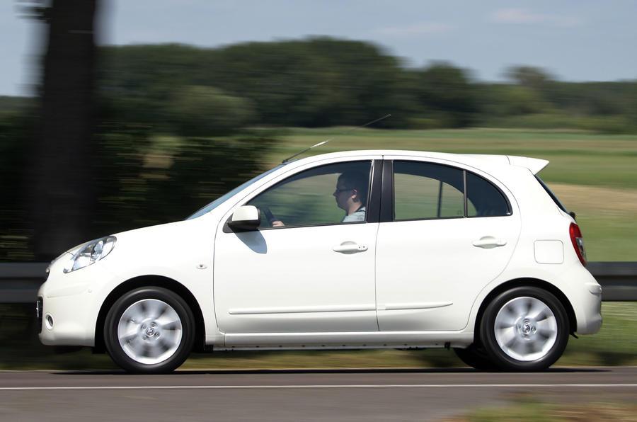 Nissan Micra DIG-S side profile