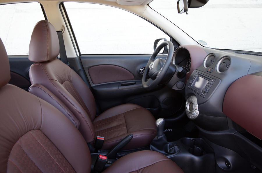 Nissan Micra DIG-S interior