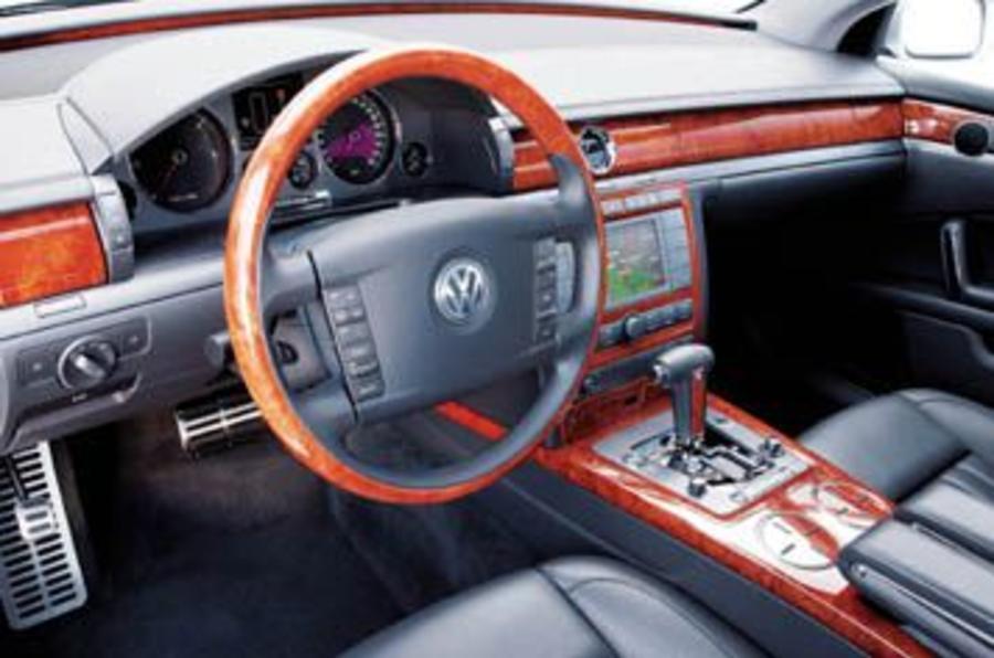 Vw Phaeton 5 0 V10 Tdi Review Autocar