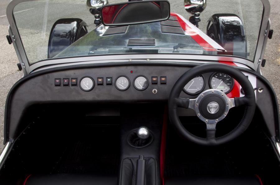 Caterham Seven Roadsport Monaco dashboard