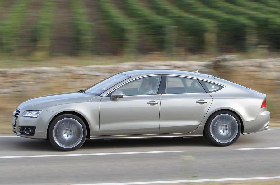 Audi A7 Sportback side profile