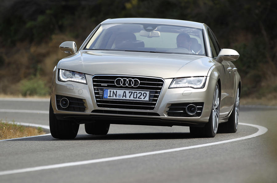 Audi A7 Sportback cornering