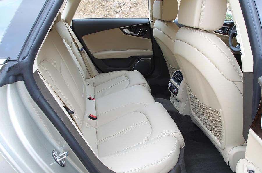Audi A7 Sportback rear seats