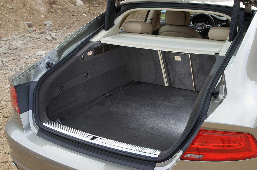 Audi A7 Sportback boot space