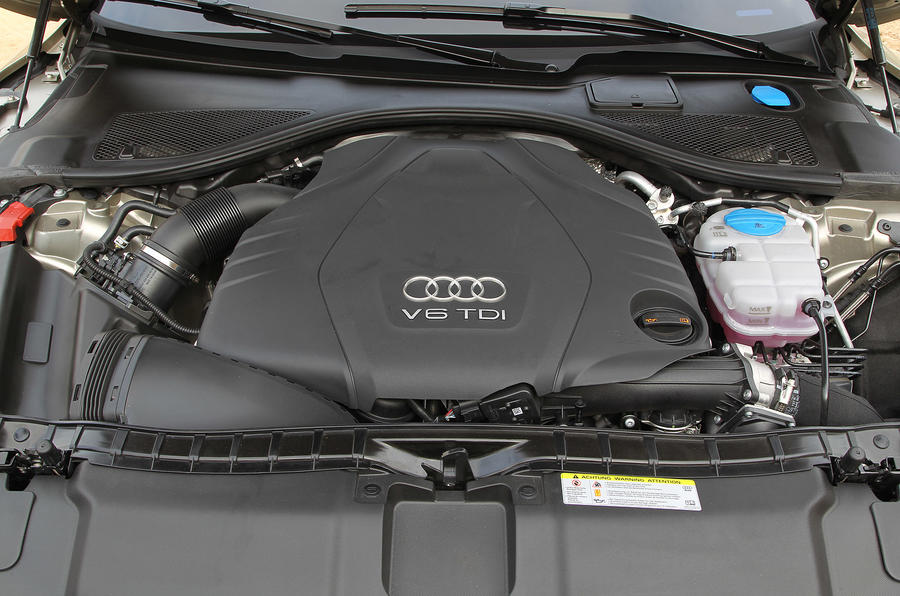 3.0-litre TDI Audi A7 Sportback engine
