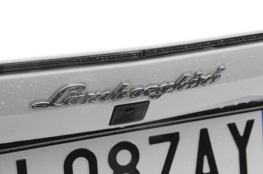 Lamborghini Aventador reversing camera