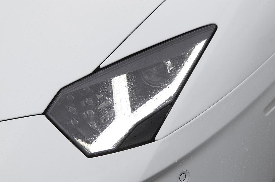 Lamborghini Aventador LED headlights