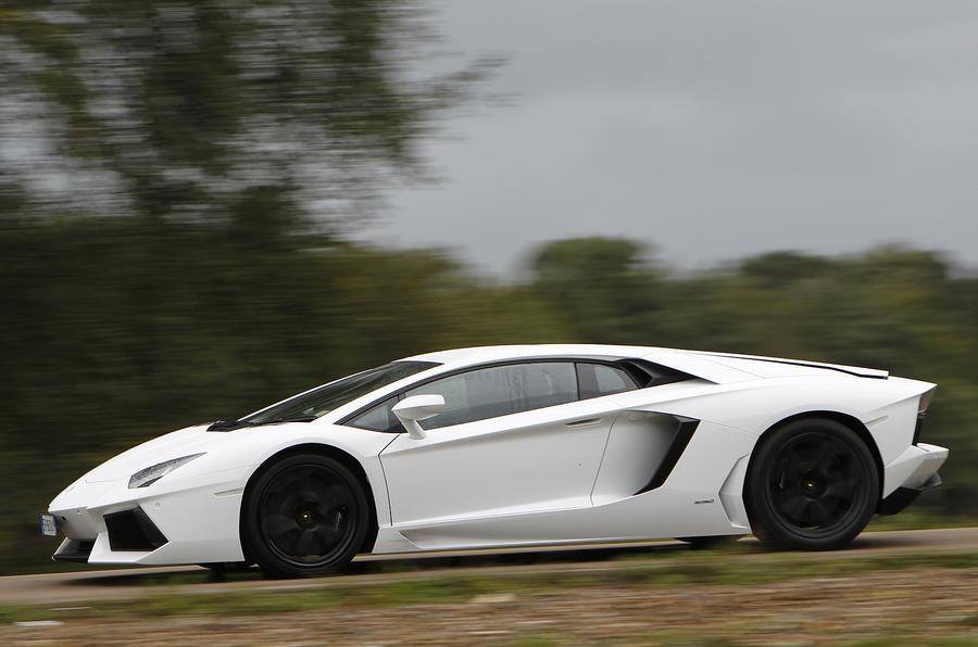 690bhp Lamborghini Aventador