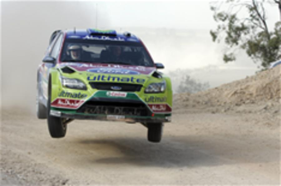 Hirvonen wins Rally Australia