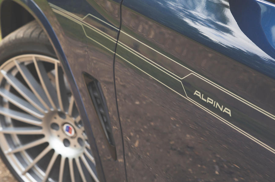 Alpina XD3 2019 UK road test review - decals