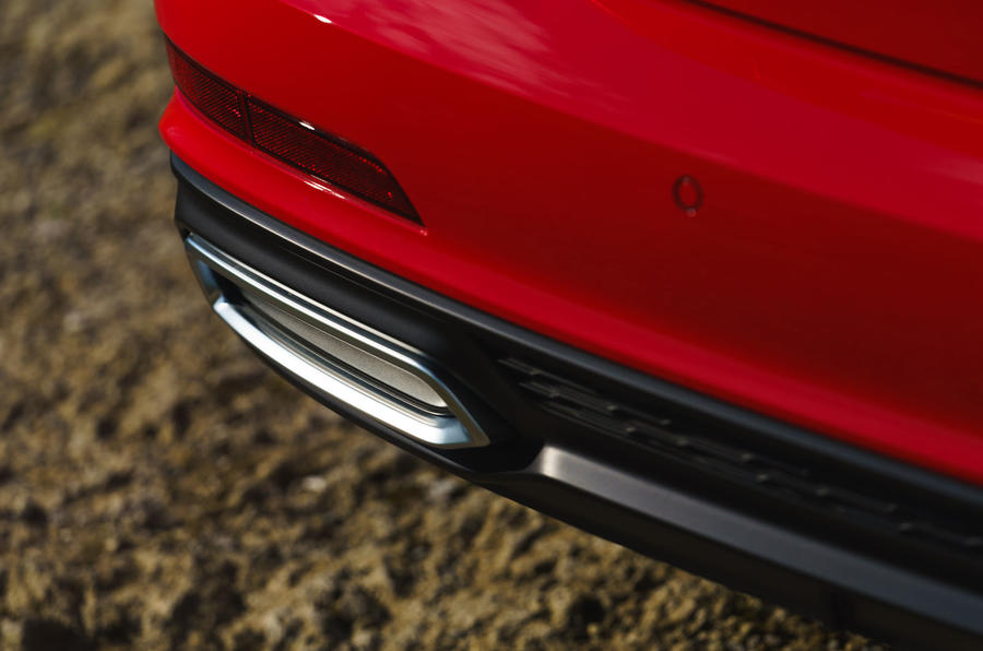 Audi A6 2019 road test review - exhausts