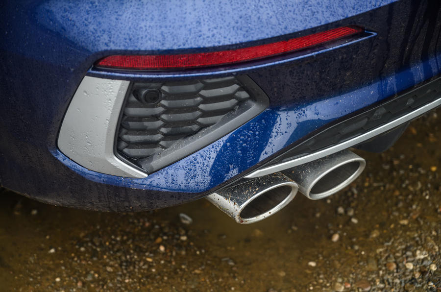 Audi S3 Sportback 2020 road test review - exhausts