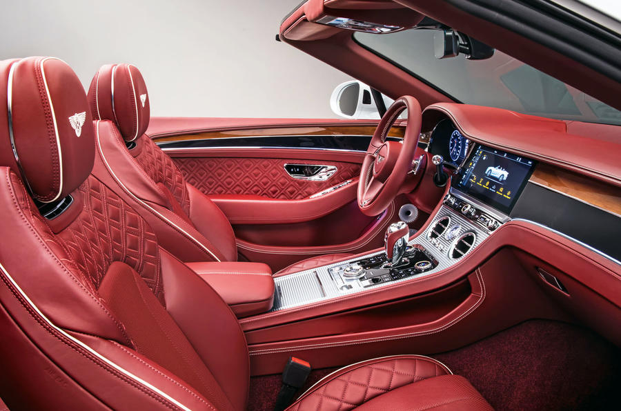 Bentley Continental GTC 2019 first drive review - cabin